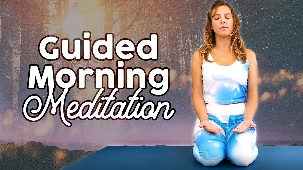Morning Meditation for Energy & Positive Mindset ♥ Guided, Soft Spoken, Relaxing Anxiety Relief