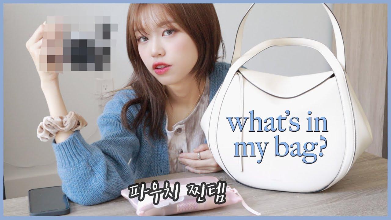 써니의 왓츠인마이백! ☀️찐템 가득 (카메라, 립스틱, 향수) What's in my bag!