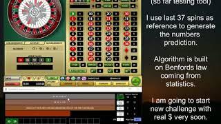 GrandMa App | testing tool | RNG online roulette strategies, systems | Casino Club