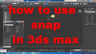 how to use snap in 3ds max   Using Snap Tools   3D Studio Max - How to align objects  3ds Max: Snaps