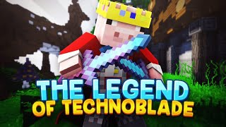 The Legend of Technoblade - King of Minecraft