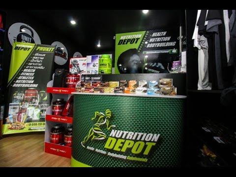 Магазин спортивного питания в Патонге