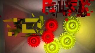 3D Alex. Растровая и векторная графика,  эффект зеркала и стекла