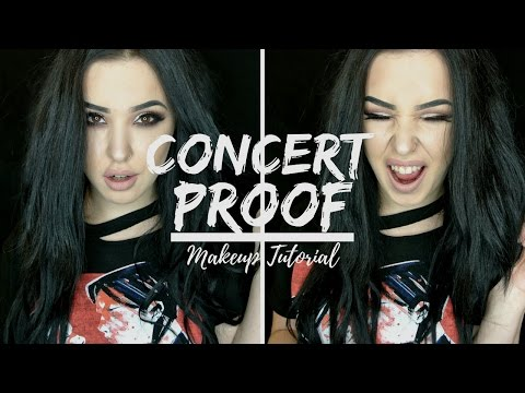 CONCERT PROOF MAKEUP | Affordable Glam Tutorial
