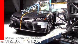 2018 Toyota Camry Crash Test & Rating - 5 Stars