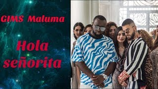 GIMS, Maluma - hola señorita - Traduction française