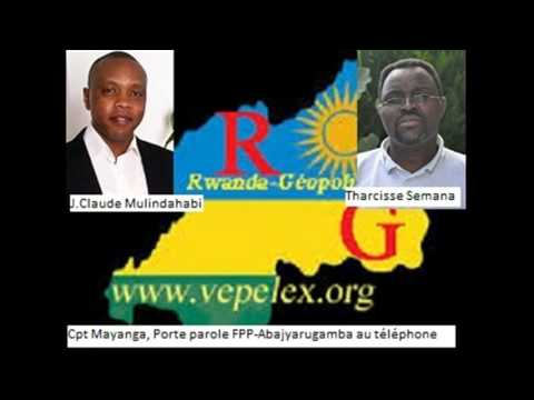 Interview na Cpt Mayanga, umuvugizi wa FPP-Abajyarugamba