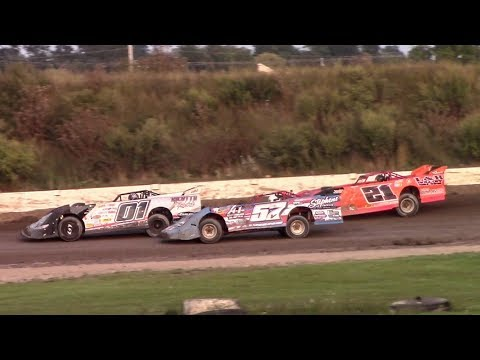 Topless RUSH Crate Late Model B-Main | Genesee Speedway | 9-17-17