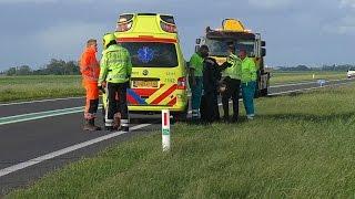 14-05-2016 Beschonken bestuurder aangehouden bij ongeval Lauwersseewei - N361 Aldtsjerk