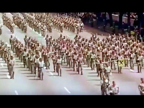1978 Día de las Fuerzas Armadas - Legión española, Regulares, Batallones de reclutas, Guardia Civil
