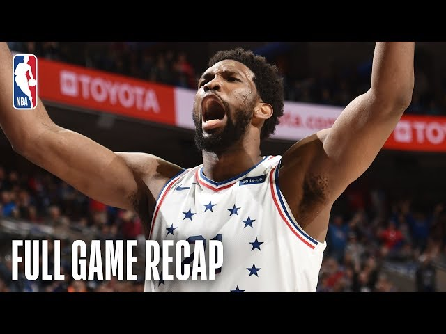 PACERS vs 76ERS | Joel Embiid SHOWS OUT In His Return To Action | March 10, 2019
