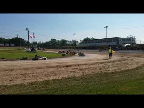 Ransomville Speedway 8/20/17 Mario jr feature #2 junior 1