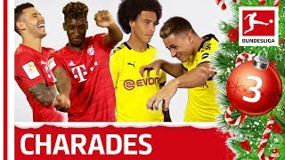 Coman & Hernandez vs. Witsel & Hazard - Charades Showdown - Bundesliga 2019 Advent Calendar 3