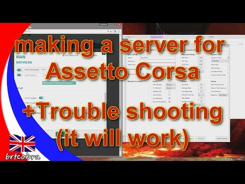 Assetto Corsa | Dedicated server guide (Simple) Port Forwarding (v1.8.1) And Getting on Track
