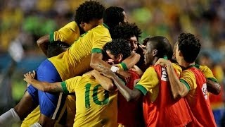 Brazil vs Honduras 5-0 All Goals & Highlights HD Friendly Match 2013 √