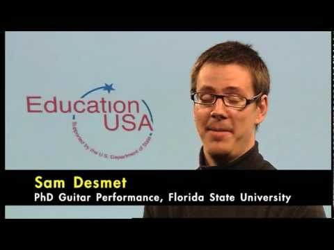 PhD in Music Performance - The First Year (Florida State University)