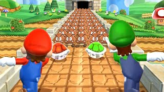Mario Party 9 MiniGames - Luigi Vs Peach Vs Mario Vs Daisy (Master Cpu)