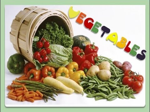 Vegetables: English Language