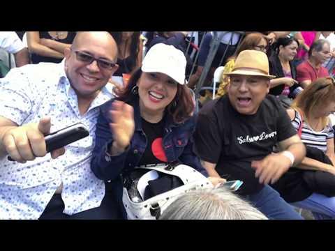 Tito Rojas en el Festival de Longwood Ave Bronx, N.Y. Video por Jose Rivera 9/9/17