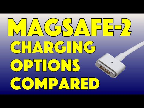 Older Apple Mac MagSafe-2 Adapter Power Options REVIEWED