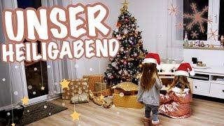 Der Weihnachtsmann war da 🎅🏻 UNSER HEILIGABEND...