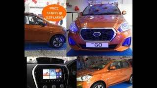 2018 Datsun Go & Go Plus Review || All New Loaded Features
