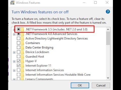Microsoft .NET Framework 3.5 Offline Installer For Windows 10 (Without Any Tool)