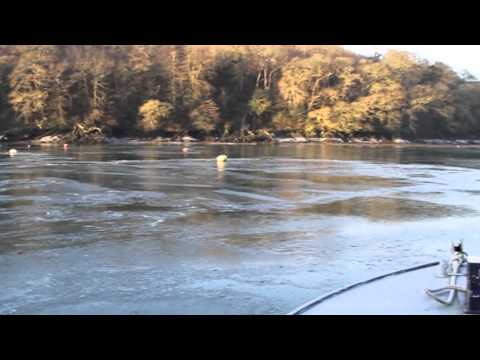Fal River :: Ice on the river - Feb 2012