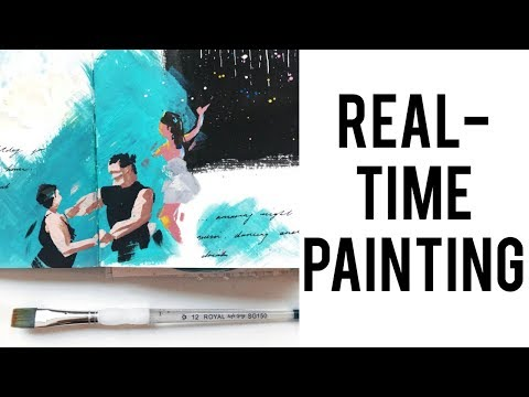 Minimal Painting Style · Real-Time Process