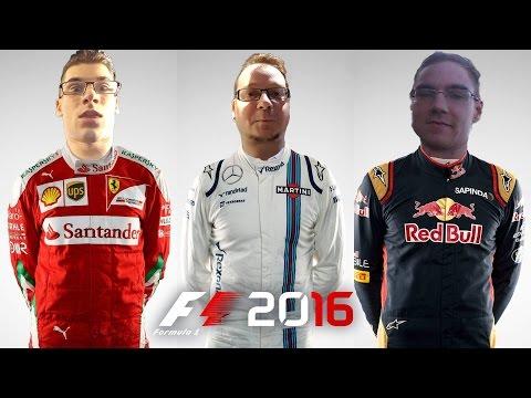 F1 2016 COOP AMG LEO BAHREIN NAGYDÍJ