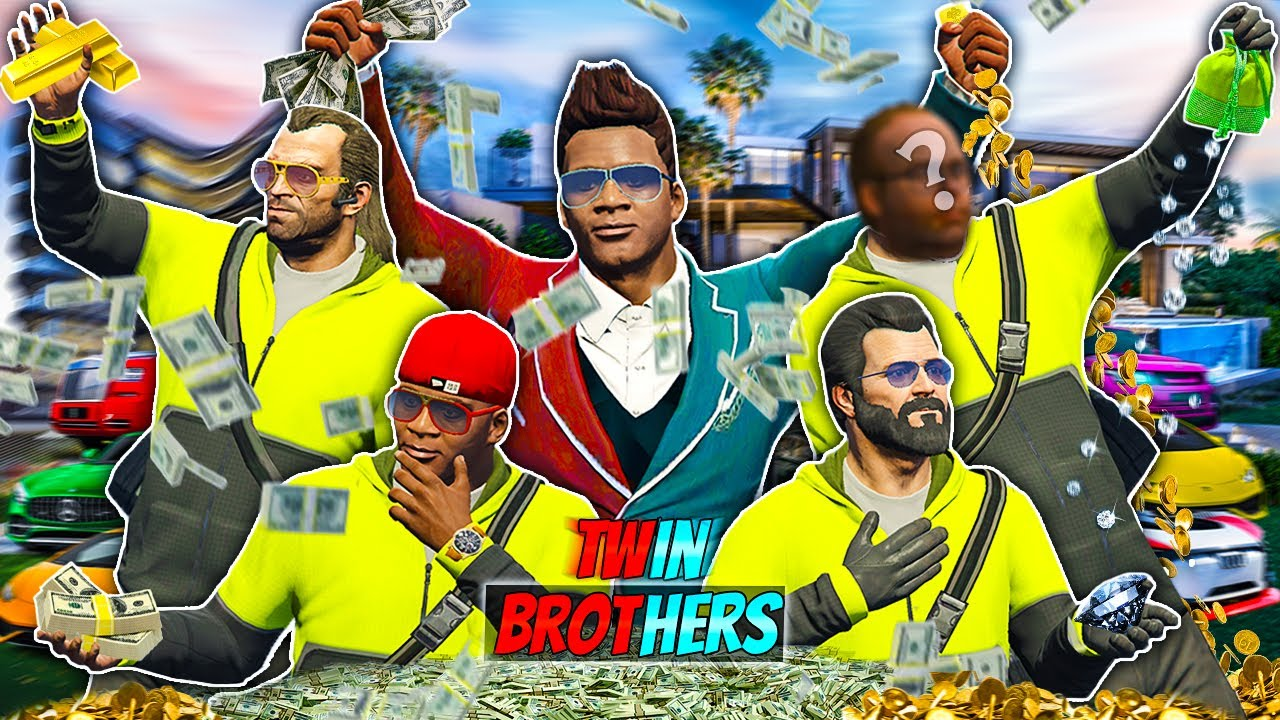 Franklin, Michael, Trevor Became BILLIONAIRES By Doing BIGGEST BANK HEIST In GTA 5