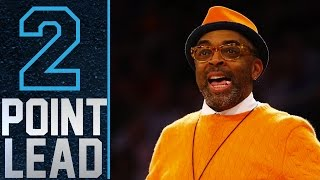 Celebrities at Knicks Games   2 Point Lead