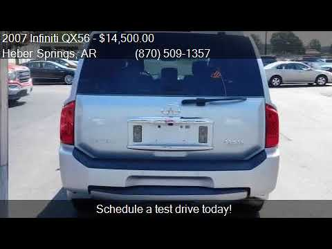2007 infiniti qx56 base 4dr suv for sale in heber springs a youtube youtube