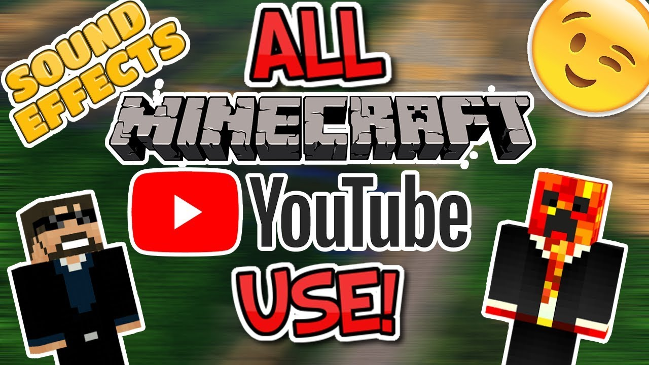 ALL MINECRAFT YOUTUBERS USE THESE SOUND EFFECTS    (Skeppy Sound Effects)