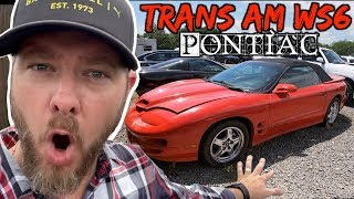 Here's a 17 Year Old Pontiac Trans Am WS6 | Why Is it just Sitting Here?