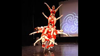 Chinese Bicycle Acrobats