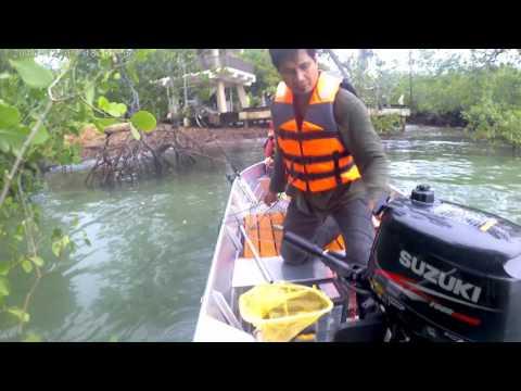 Tangkap ketam dan mancing di Port Dickson Pt. 1