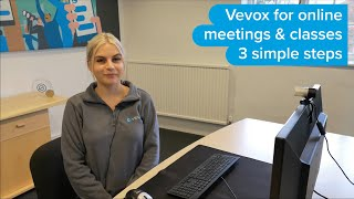 Vevox for online meeting and classes