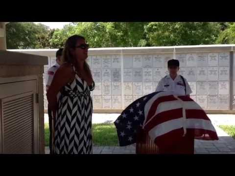 R.I.P my uncle Gail Lee Wulf.  Beautiful service at Florida National Cemetery.  Bushnell Florida.