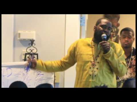 Dr. Umar Johnson live at Dr. Carter G. Woodson African American Museum  in St Pete. Fl 2016