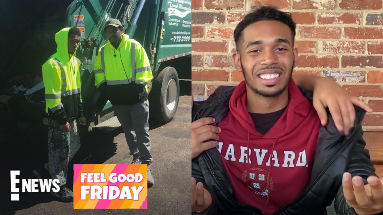 How a Sanitation Worker Got into Harvard   Feel Good Friday News