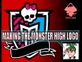 Inkscape Tracing a Logo Monster high - free graphics - part 3 - Vector Art