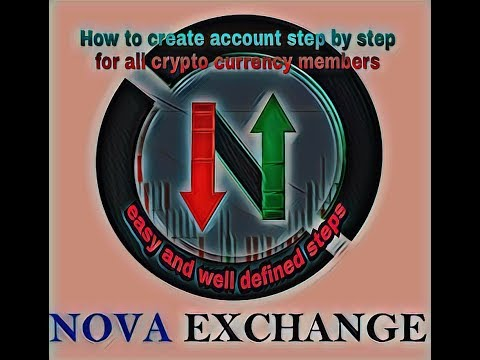 Nova Exchange | How to create account in nova exchange, for all crypto  currency
