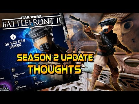 SEASON 2 UPDATE THOUGHTS | Calendar, New Additions & Hero Changes (Battlefront 2)