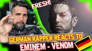 Eminem - Venom | GERMAN RAPPER REACTION 💯🎤🇩🇪