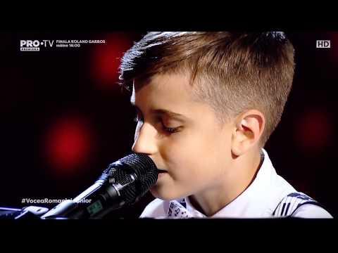 Andrei Serban - Great balls of fire (Vocea Romaniei Junior - sezonul 2) full video