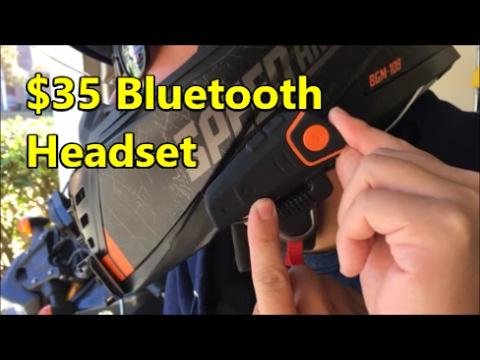 SENA Alternative? $35 Motorcycle Bluetooth Headset