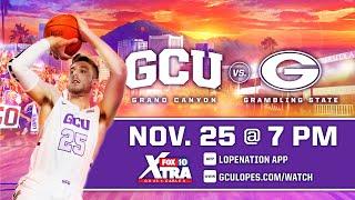 GCU Men's Basketball vs Grambling State  |  Nov. 25, 2020