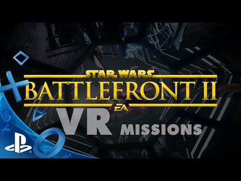 STAR WARS Battlefront II: VR Missions Reveal Trailer | PS VR // FanMade Concept
