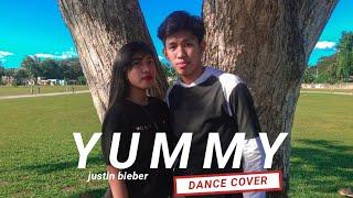 YUMMY - Justin Bieber (Dance Cover)   Jazzpher Gio ft. Jade Anne